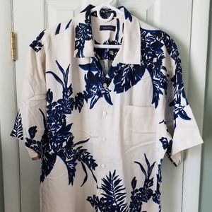 Nautica silk shirt